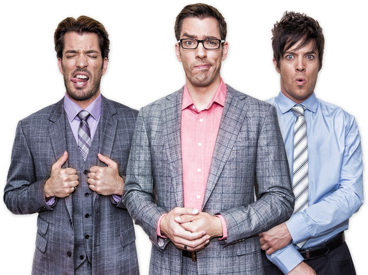 The Scott Brothers | Property Brothers | Drew Scott | Jonathan Scott | J.D. Scott