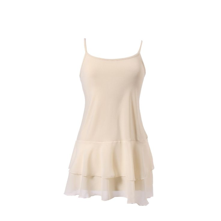 Iris Chiffon Top Extender Go from BASIC to FABULOUS with peekaboo-chic's Iris Chiffon Top Extender featuring two silky, flowy, wrinkle-free chiffon layers and adjustable straps...a bestseller. We've t