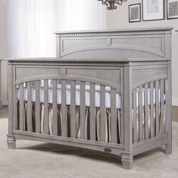 The Evolur Santa Fe 5 in 1 Convertible Crib offers a softer look with its full flat top panel design. Highlighted by detail routing, dentil molding, fluting and imperial feet adds a touch of charm. The Santa Fe 5 in 1 crib easily transitions from a standard size crib to a toddler bed, day bed and option as a full size bed. Evolur cribs are designed and engineered to the highest safety standard that meet and exceed those set by the Consumer Product Safety Commission and American Society for…