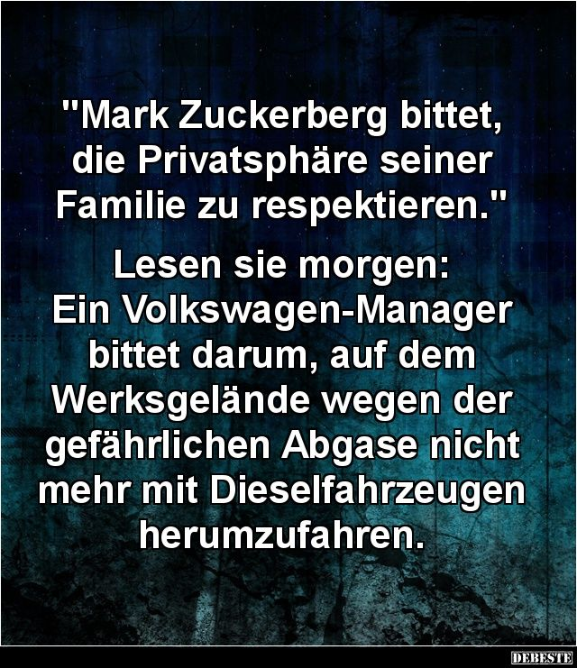 Mark Zuckerberg Bittet Die Privatsphare Mit Bildern Lustig