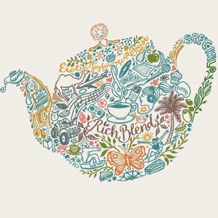Sketchbook: Silhouette illustration: Inspiration
