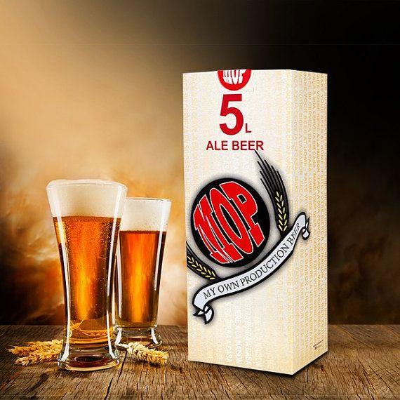 Kit de bière ARTISANALE pour la fabrication de la bière à la maison avec un équipement de cuisine