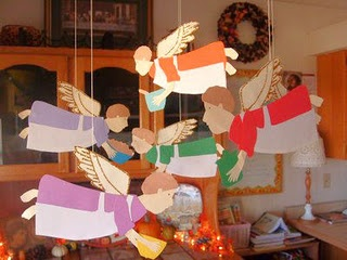 angel crafts for angel feast days