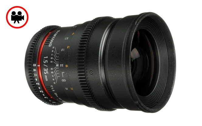 Samyang 35mm T1.5 Geniş Açı Sinema Serisi Objektif | filmekipmanlari.com  Rezervasyon & Bilgi için: 0533 548 70 01 info@filmekipmanlari.com   http://filmekipmanlari.com/kiralik-samyang-35mm-t1-5-lens/