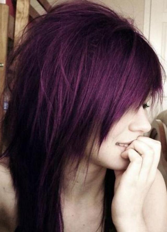 Purple Hair I Feel Like Doing Something Major With My