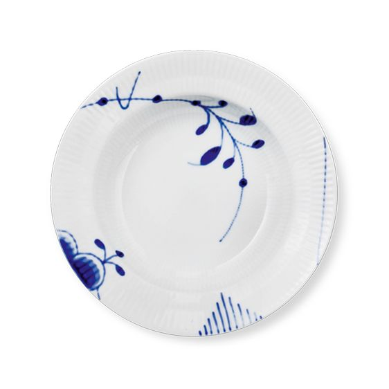 Deep plate, 21 cm #2 x 2 - bought in Denmark 2011 & from my parents, Xmas 2013.