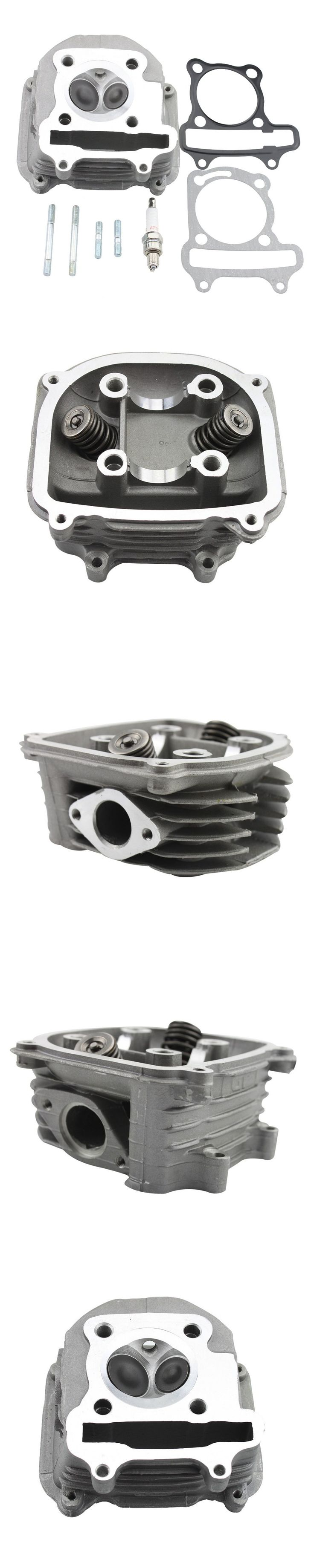 """GOOFIT Cylinder Head 2.5"""" tall 150cc GY6 Engine with Gasket part MOTORCYCLE ACCESSORY Group-20"""