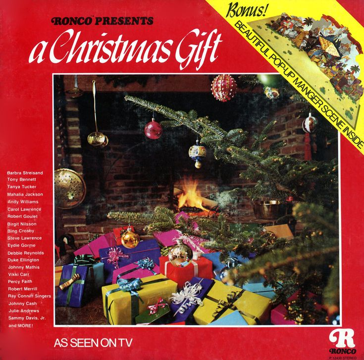 Christmas Gifts For Artists Part - 42: Ronco Presents A Christmas Gift (Various Artists)