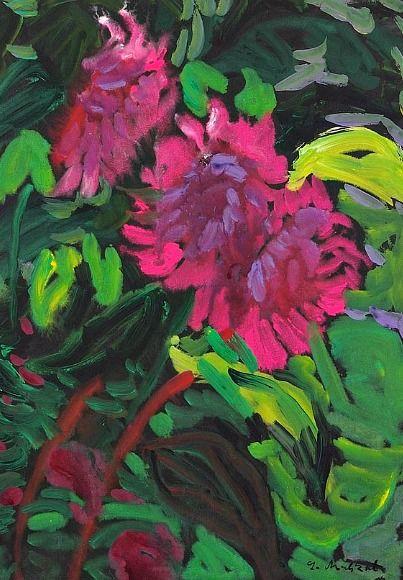Lothar Malskat    Sunflowers    1980