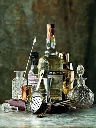 A collection of cocktail props, beautifully vintage! And nothing tacky about this!