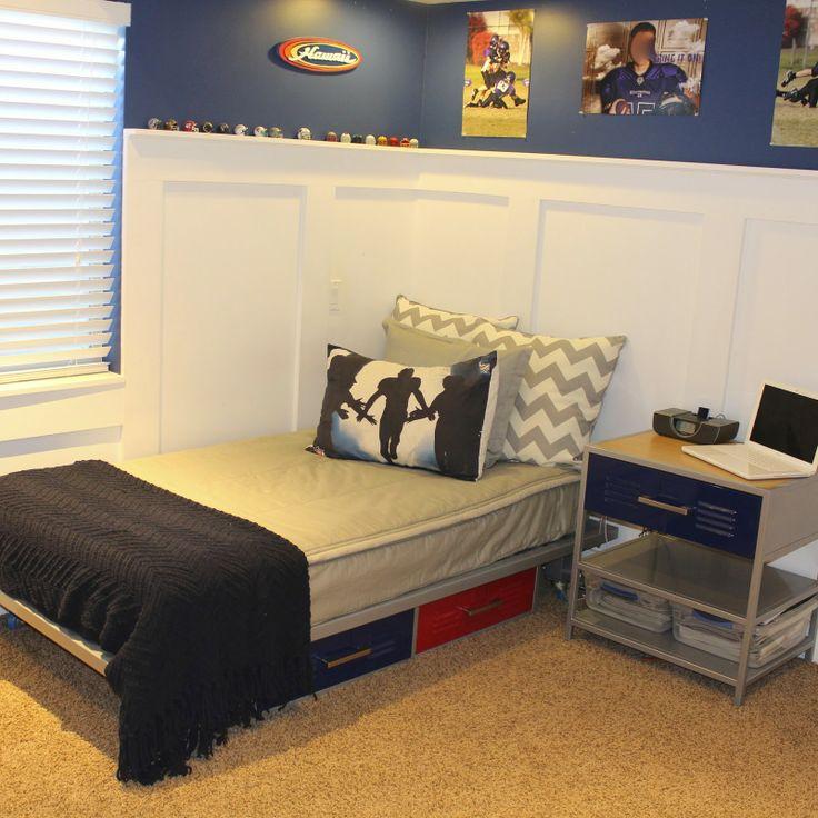 Teenager Boy Bedding Locker Room Theme Bunkbed Comforter