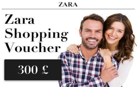 Win 1 Of 150 ZARA Shopping Vouchers UK!