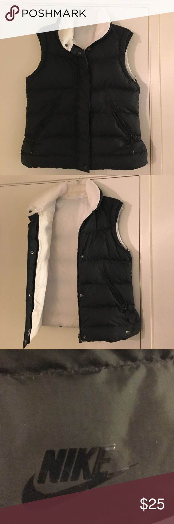 Nike Women's Sports Vest Nike Women's Sport Vest! Great condition. No stains, rips or tears. Water resistant. Nike Jackets & Coats Vests