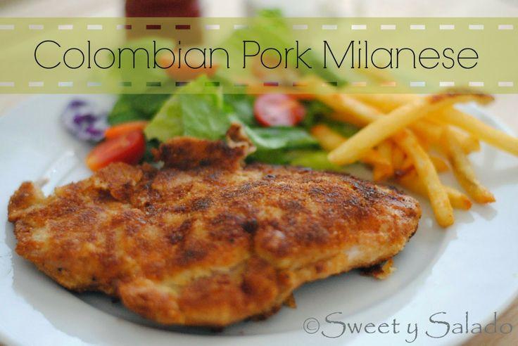 Chuleta Valluna (Colombian Pork Milanese)