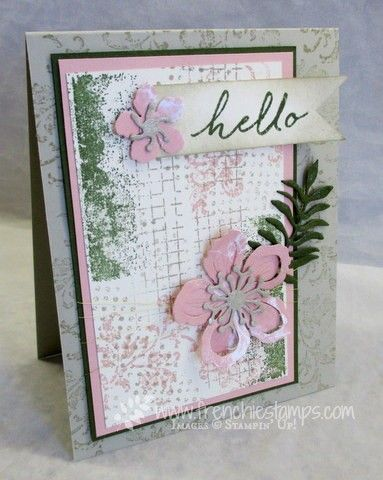 Stamp & Scrap with Frenchie:Timeless Textures, Botanical Builder Framelites, Color Challenge with Frenchie Team