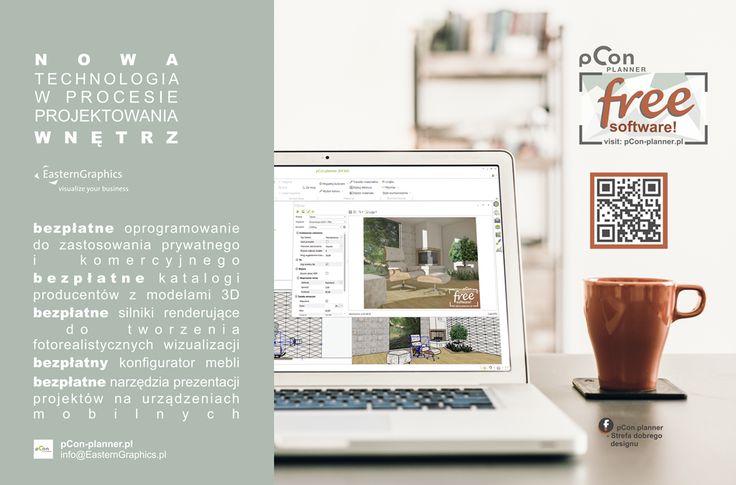 Wizualizacja stworzona w bezpłatnym, profesjonalnym programie do projektowania wnętrz pCon.planner!  Odwiedź nas na fb - pCon.planner strefa dobrego designu
