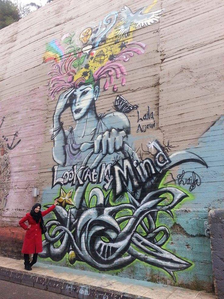 Laila Ajjawi vive y trabaja en Jordania - Mujeres y arte en los muros árabes