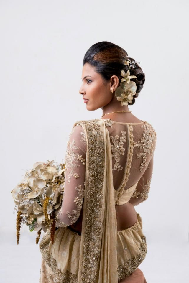 By Purnima Abeyratne. | Bridal Saree Designs | Pinterest ...