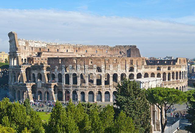 Colisée de Rome, Italie.