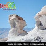 El Campo de Piedra Pómez, marcha 1ro como punto de interés turístico de la Argentina
