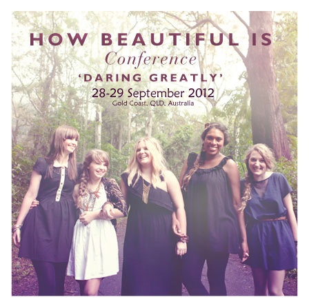 This is a boutique conference held on the stunning Gold Coast, Australia. It has been designed with YOU in mind.There will be moments for insane laughter, extravagant food, incredible new girlfriends, space for shopping, pampering or relaxing & most crucially; 24 hours to pause, breathe, reflect and come away inspired.Conference begins Fri evening, 7pm & ends Sat, 9pm. A full itinerary will be sent to you on registration. GUEST SPEAKERS: Dr Dave & Christine Martin.