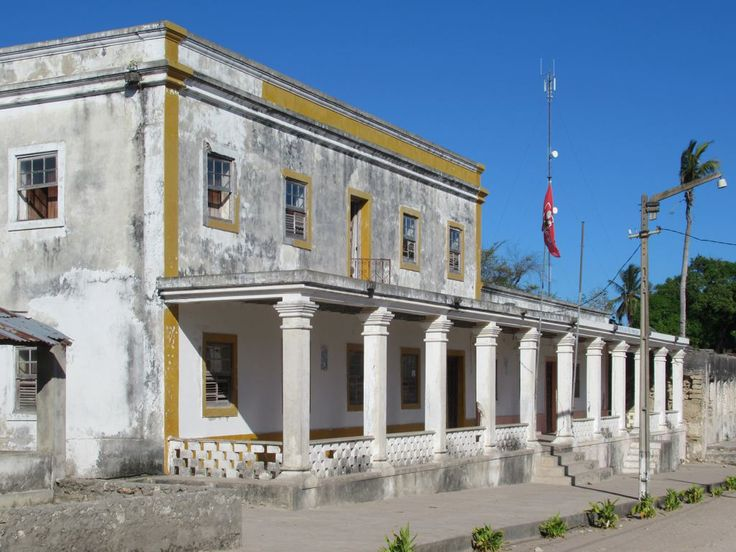 The ruling Frelimo Party has their district headquarters in this colonial building on Ibo Island, Mozambique.