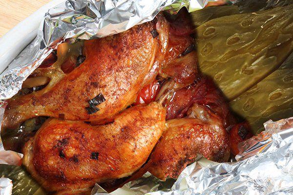 Chécate, Mídete, Múevete - Mixiote de pollo receta sencilla mídete