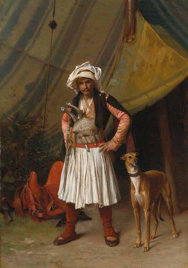 A Bashi-Bazouk and his Dog