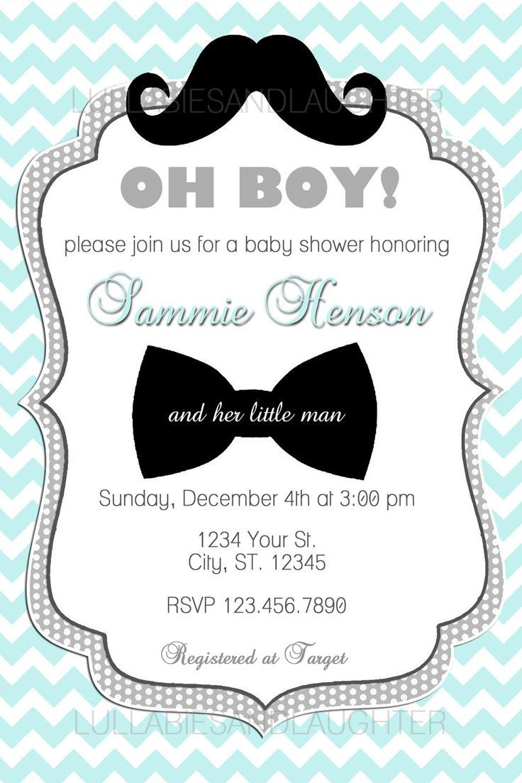132 best baby shower invitations images on Pinterest | Baby shower ...
