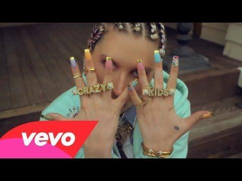 Ke$ha - 'Crazy Kids' Music Video Premiere! - Listen here --> http://beats4la.com/keha-crazy-kids-music-video-premiere/