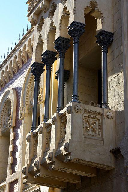 Casa de los Dragones, Ceuta by Trevor.Huxham, via Flickr