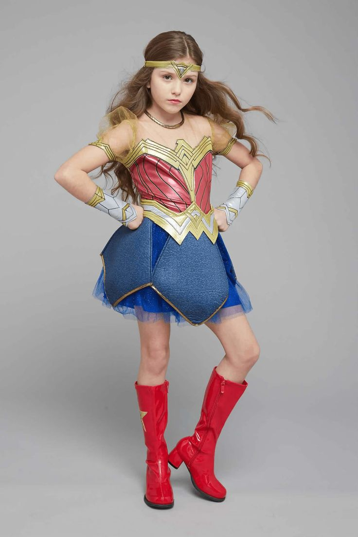 Ultimate Wonder Woman Costume For Kids - Dawn Of Justice -8792