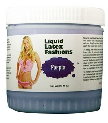 Liquid Latex Fashion Solid Purple 16 ounces. For the imaginative individual ready to experiment in the ultimate art form, the premium quality Liquid Latex Body Cosmetic is the ultimate fantasy costuming product! Providing for all of your wildest costuming needs, your total satisfaction and delight is completely assured. With a little preparation and lots of creativity, Liquid Latex products can provide hours of head turning fun and stimulating excitement. Liquid Latex is excellent for…