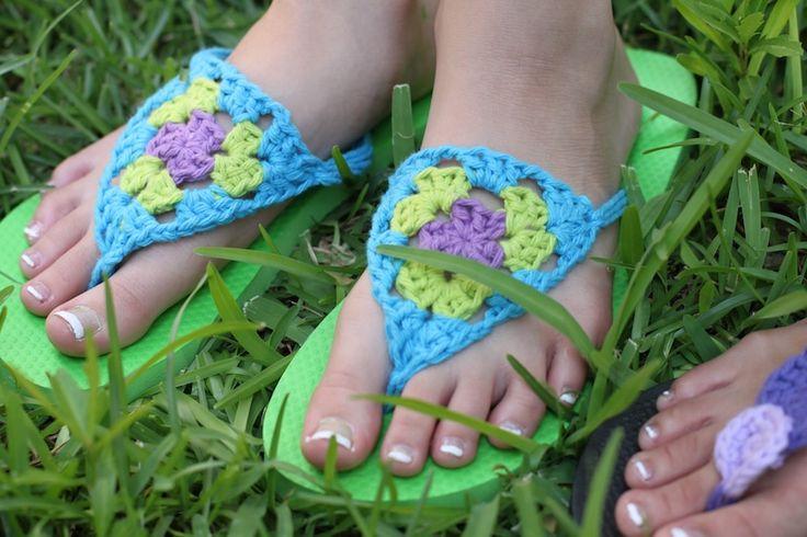 The Oxford Family: Flip Flop Refashion DIY