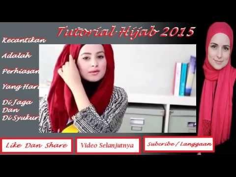Tutorial Hijab 2015 ~ Hijab Modern Syar'i Khusus Mahasiswi Cepat Dan Sim...