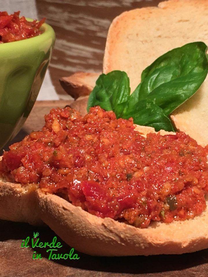 Pesto di pomodori secchi a modo mio | Il Verde In Tavola