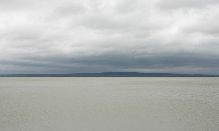 Lake Balaton, Keszthely. May 2014. It was storming when I arrived in Keszthely, the lake looked like a massive bowl of quick silver under the dark clouds. Memorable.