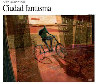 MartaToledo Ilustraciones: Apuntes de viaje-Suplemento Cultura Diario Perfil