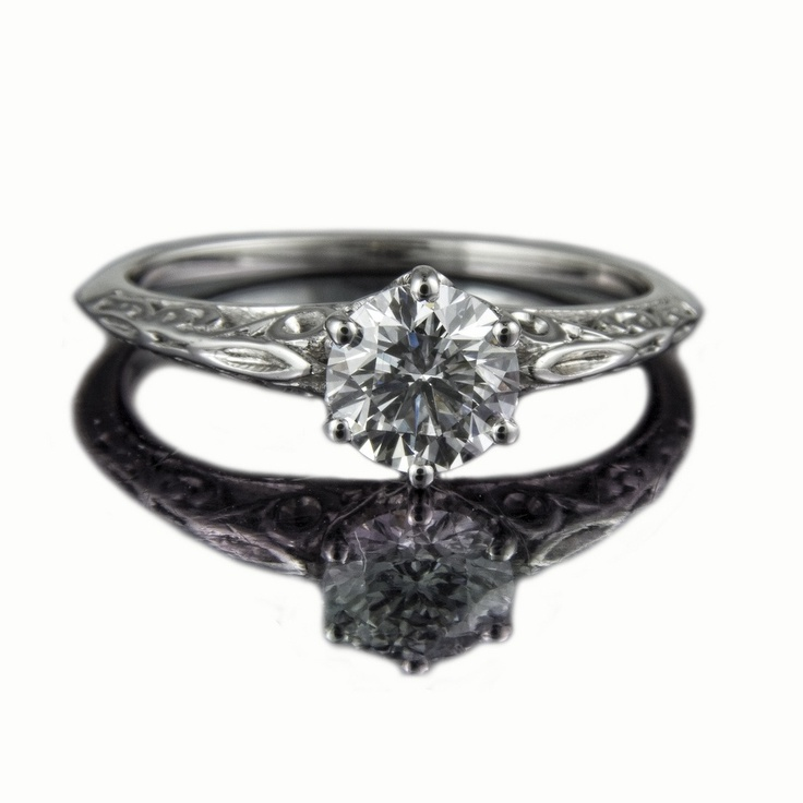 Silver Diamond Rings Images