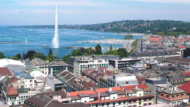 Vue sur Genève. [ocphoto - Fotolia]