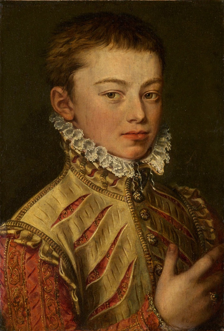 Alonso Sánchez Coello. 1559-60. Art Institute of Chicago, Illinois.    Illegitimate son of Holy Roman Emperor Charles V and half-brother of Philip II of Spain.    Illegitimate son of Holy Roman Emperor Charles V and half-brother of Philip II of Spain.