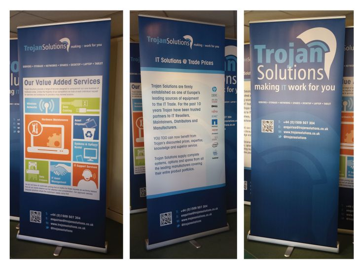 Pop Up Banner Design Ideas Pop Up Banners Designed And Printed For Trojan Solutions Banner