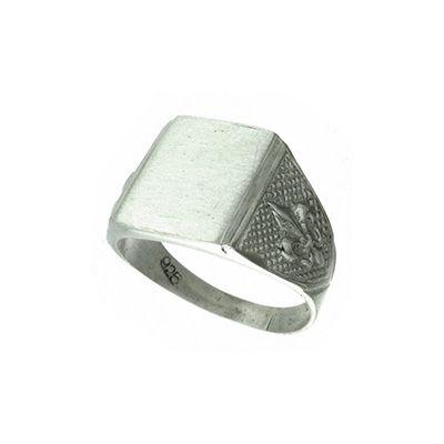 SELLO FLOR DE LIZ - plata 925 #joyas #anillo #plata925 #hombre#sellos