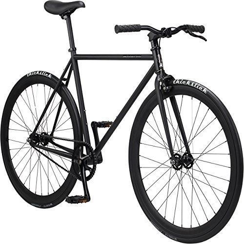 Pure Fix Original Fixed Gear Single Speed Bicycle, Amaru Matte Black, #PureCycles