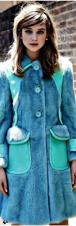 Street style fashion / karen cox. Winter Warm. Miu Miu