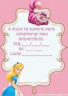 Kit Festa Alice no País das Maravilhas Para Imprimir Grátis: País The, Da Alice, Free Print, Print, Party Alice