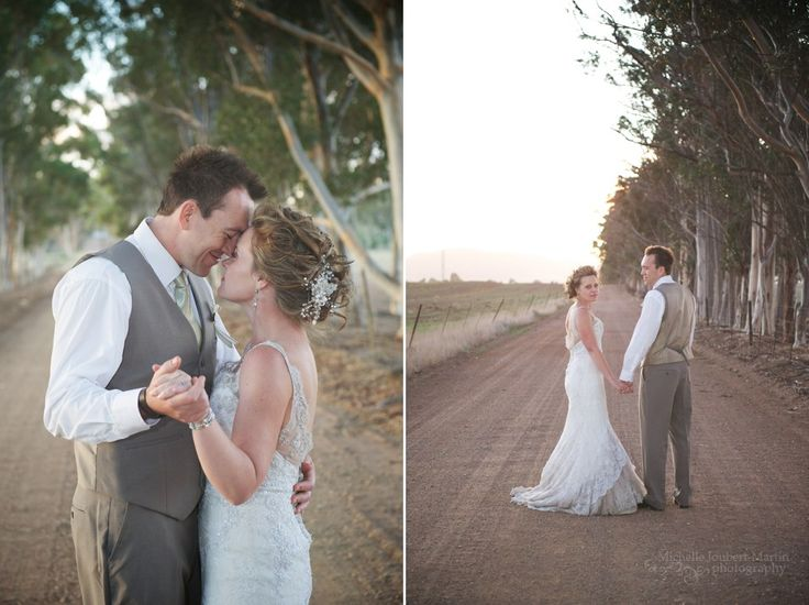 Bride and groom couple shoot from a wedding in Riebeek Kasteel Valley, images by Somerset West based photographer Michelle Joubert-Martin Photography