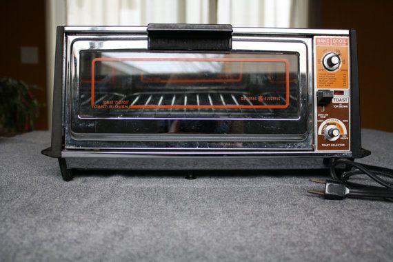 Vintage Ge Toaster Oven ~ Oven toaster vintage ge