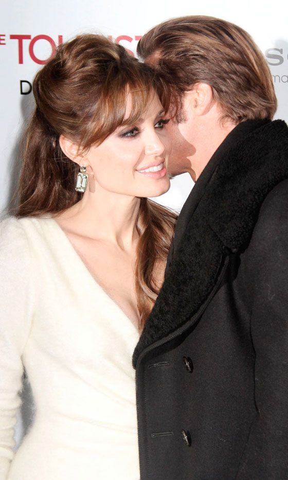 The Perfect Couple? Angelina Jolie And Brad Pitt At The Premiere Of The Tourist In New York, 2010