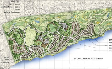 Welcome to Federal Design Group Website :: St. Croix Resort Master Plan, Caribbean ::